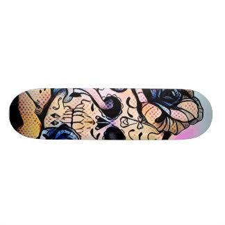 Blumen-Krone DURCH JunkDrawr Skateboards Individuelle Decks