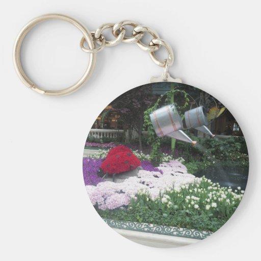 BLUMEN Marienkäfer-Schmetterlings-Garten-Sieger Schlüsselband