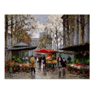 Blumen-Markt am La Madeleine