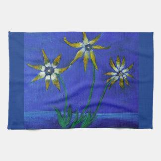 Blumen maserten Kunst Tee-Tuch 40,6 cm x 61 cm Handtuch