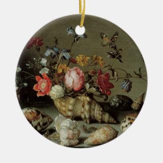 Blumen, Muscheln und Insects Balthasar van Der Ast Keramik Ornament