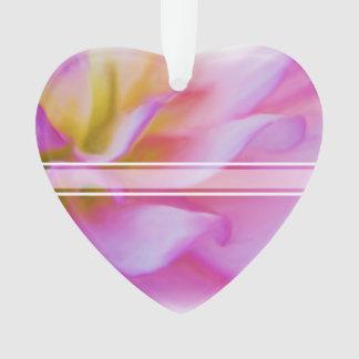 Blumen-rosa Dahlie Ornament