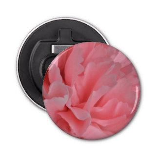 Blumen-rosa Gartennelke Runder Flaschenöffner