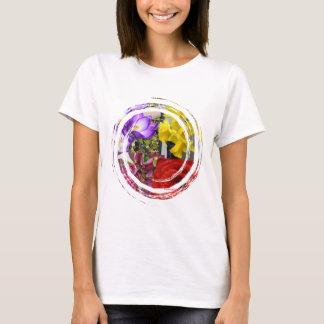 Blumen-Strudel LadiesT-Shirt T-Shirt