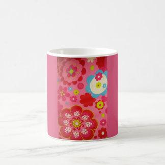 Blumen-Tasse Tasse