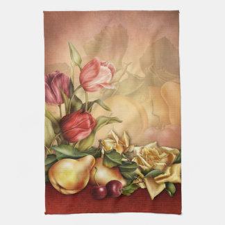 Blumen und Frucht-Küchen-Tuch Küchentuch