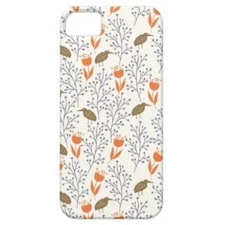 Blumen und Vogel-neutrale Person Phonecase iPhone 5 Hüllen