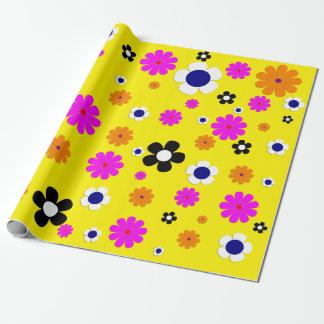 "Blumen-Verpackungs-Papier 30"" x6 Geschenkpapier"