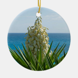 Blumen-Verzierung Keramik Ornament