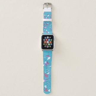 Blumenblätter Apple Watch Armband