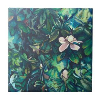 Blumenfliese der tropischen Magnolien-Keramik Keramikfliese