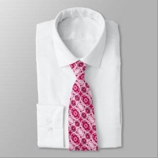 BlumenFoto der reizenden rosa Rosen Individuelle Krawatten
