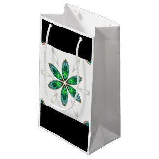 Blumengrün Kleine Geschenktüte