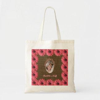 Blumenleinwand-Baby | stellen Ihre eigene Mamma Budget Stoffbeutel