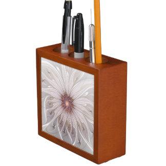Blumenphantasie, abstrakte moderne PastellBlume Stifthalter