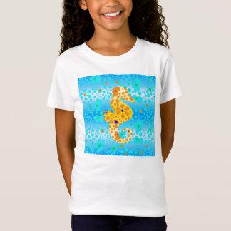 BlumenSeepferd-T - Shirt