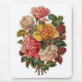 Blumenstrauß der Rosen Mousepads
