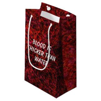 Blut ist stärker als Wasser Kleine Geschenktüte