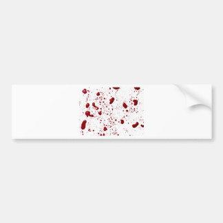 Blut-Spritzer Autoaufkleber