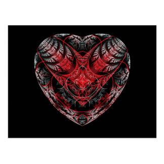 Blutendes Herz Postkarte