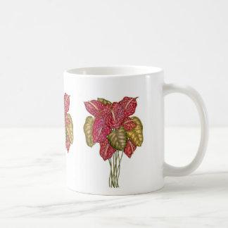Blütenschweif-Blumenstrauß Kaffeetasse