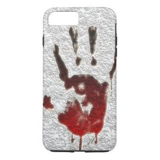 Blutiger Handdruck iPhone 8 Plus/7 Plus Hülle