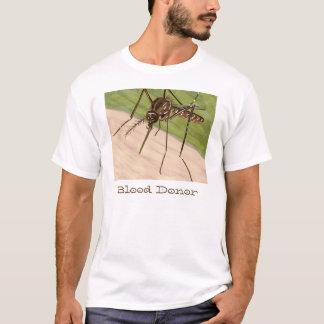 """Blutspend-"" Moskito-Kunst-Shirt T-Shirt"
