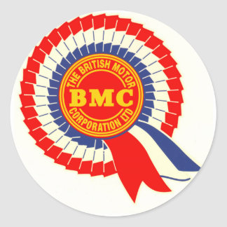 BMC Rosette-Aufkleber Runder Aufkleber