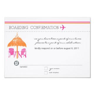Boarding-Durchlauf UAWG Karte 8,9 X 12,7 Cm Einladungskarte