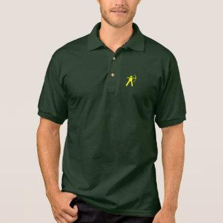 Bogenschießen-Polo-Shirt Poloshirt