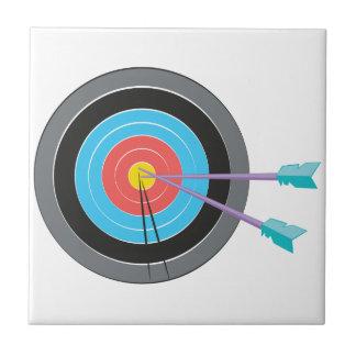 Bogenschießen-Ziel Kleine Quadratische Fliese