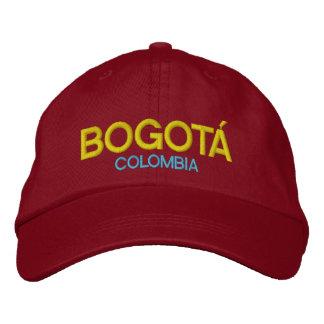 Bogotá Kolumbien gestickter Hut Bestickte Baseballkappen