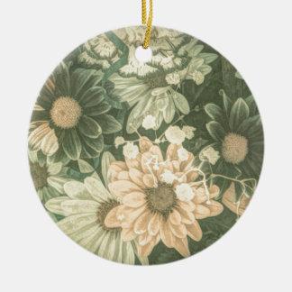 böhmische wunderliche rundes keramik ornament