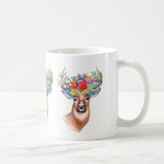 Böhmisches Thema-majestätische Hirsch-Kaffee-Tasse Tasse