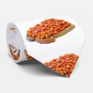 Bohnen auf Toast Krawatte
