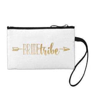 Boho Goldpfeil-Braut-Stamm-Tasche