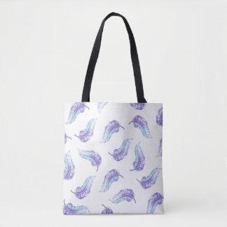 Boho versieht Taschen-Tasche mit Federn