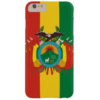 Bolivianischer Flaggen-Telefon-Kasten Barely There iPhone 6 Plus Hülle