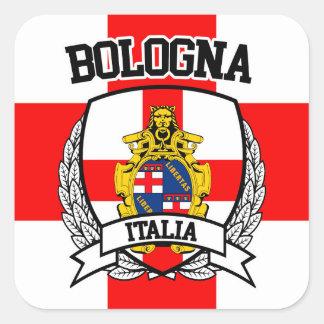 Bologna Quadratischer Aufkleber