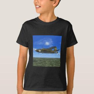 Bomber-Flugzeug-T - Shirt des Plünderer-B26