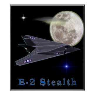 Bomberplakat der Heimlichkeit b-2 Poster