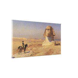 Bonaparte vor der Sphinxe Gespannter Galeriedruck