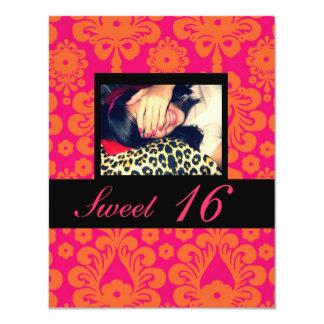 Bonbon 16 Geburtstags-Party Einladungen
