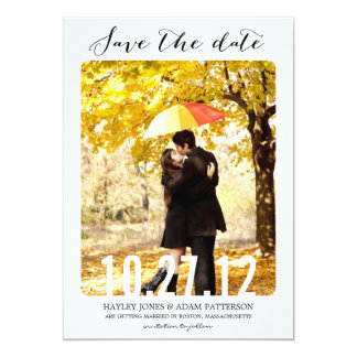 BONBON Save the Date Karten 12,7 X 17,8 Cm Einladungskarte