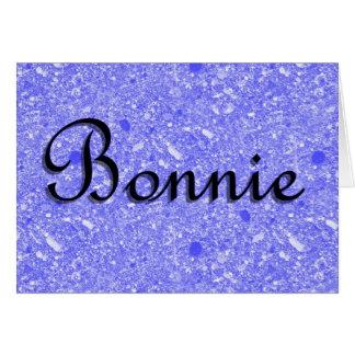 Bonnie Karte
