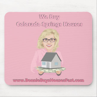 Bonnie-Kauf-Häuser Colorado Springs Mauspad