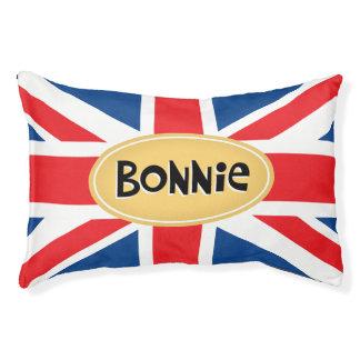 Bonnie personalisierter Brite Haustierbett