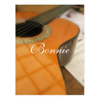 Bonnie Postkarte