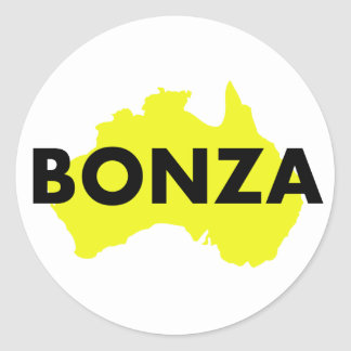 Bonza Aufkleber