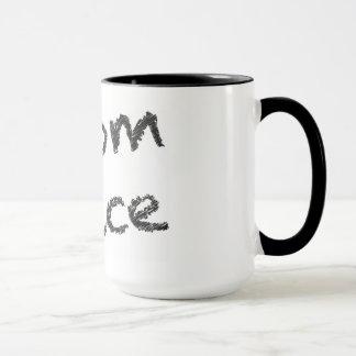 Boom-Saft - schwarzes Schreiben Tasse